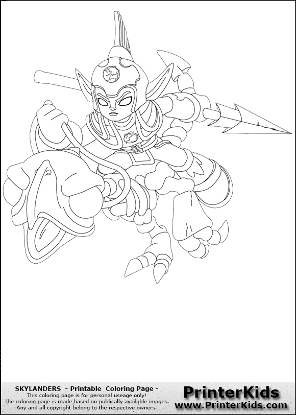 related pictures coloriage skylanders giants fright rider free lander sky coloring pages ninjini by blackrhinoranger