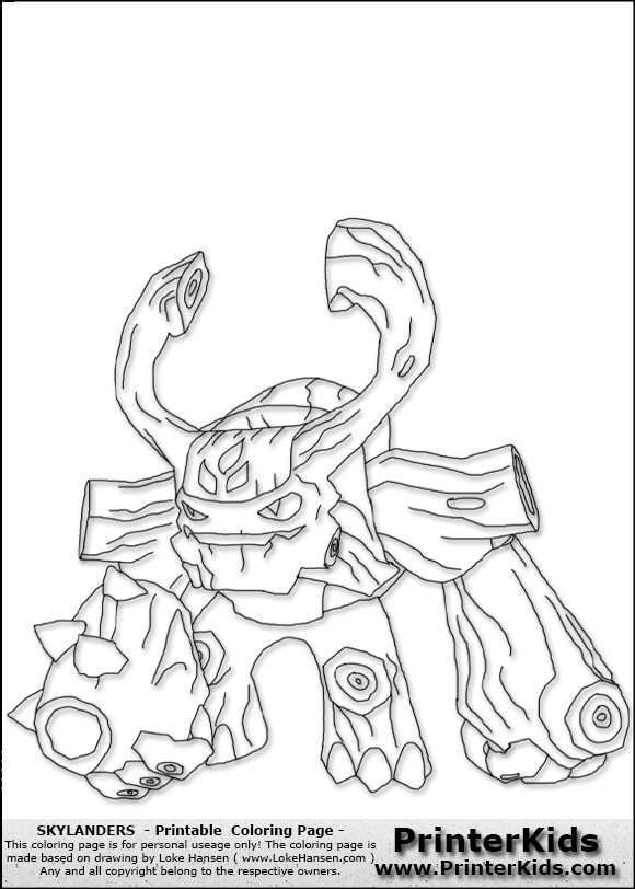 chill coloring page skylander 39 s coloring pages pinterest
