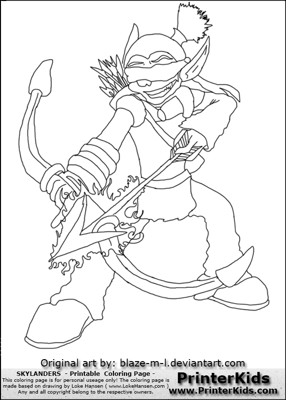 flameslinger coloring pages - photo#8