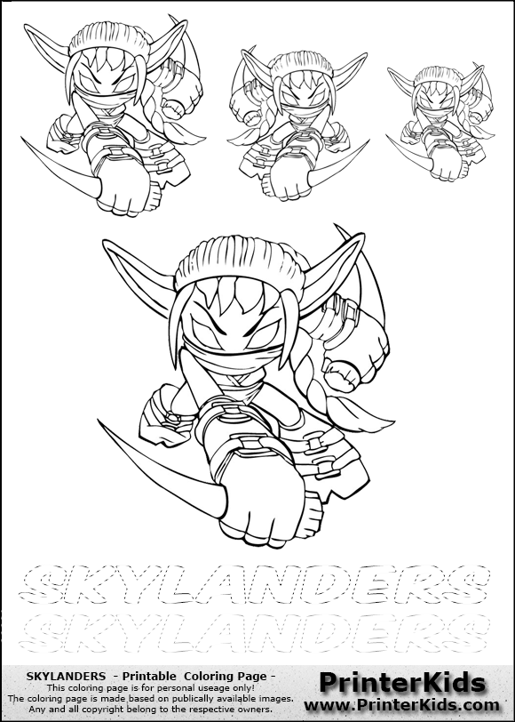stealth elf printable coloring pages photo10