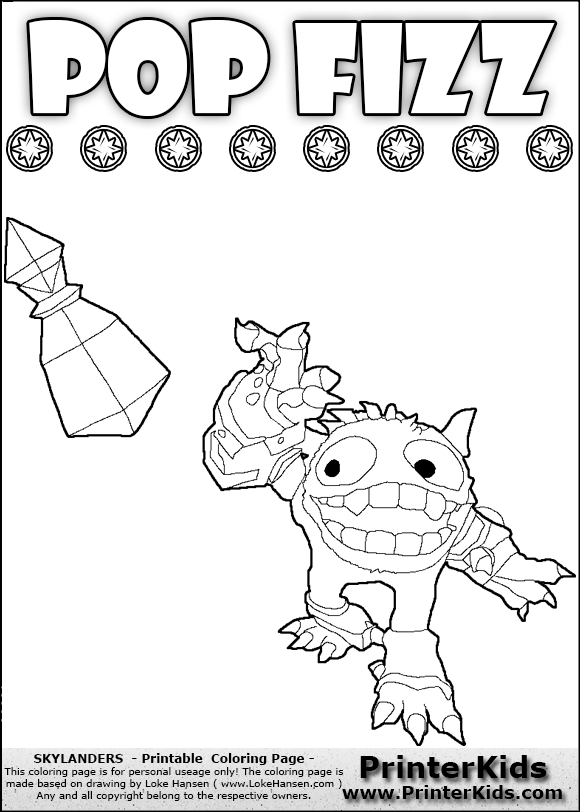 skylander wrecking ball coloring pages - photo#13