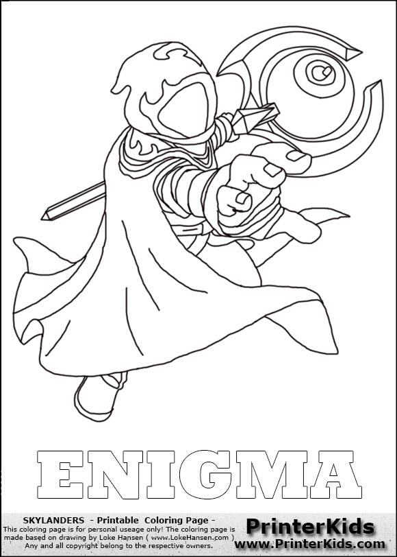 skylander trap team coloring pages - photo#24