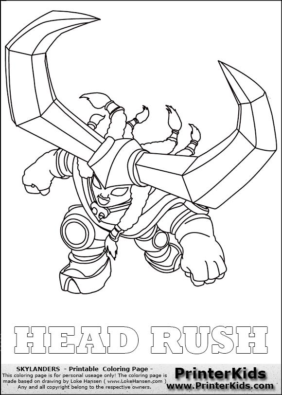 Skylanders Trap Team Coloring Pages Traps