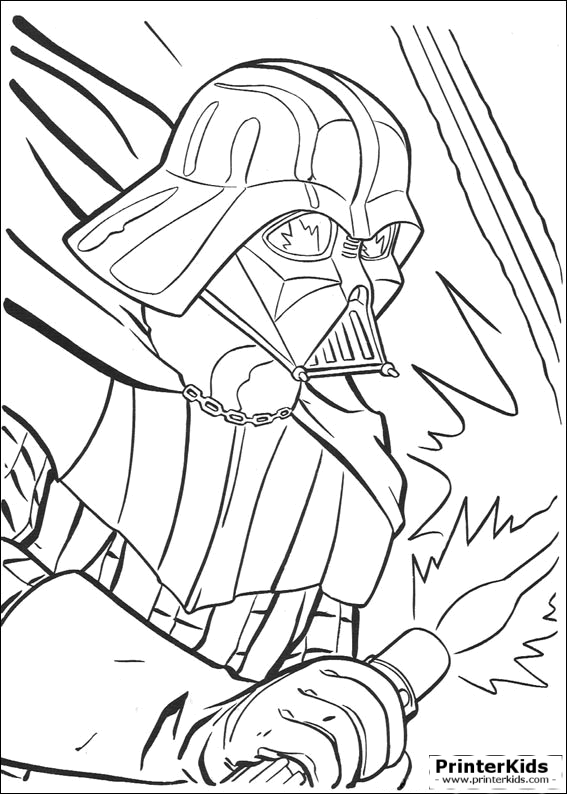 Darth Vader Lightsaber Drawing View Png