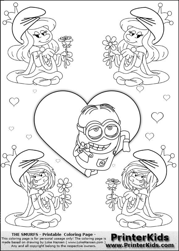 view png color page online - Despicable Coloring Pages Dave
