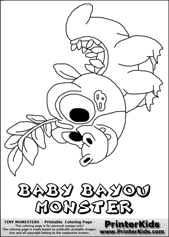 bayou coloring pages - photo#6