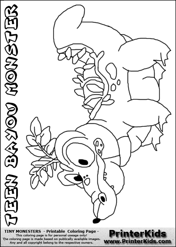 bayou coloring pages - photo#19