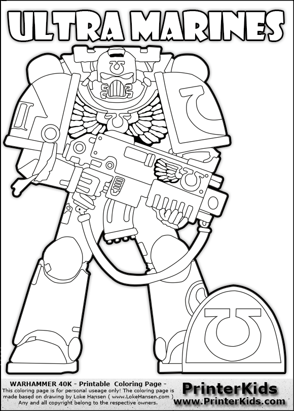 marine corp coloring pages - photo#35