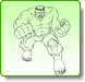 HULK Battle Ready Coloring Pages
