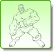 HULK Evading Coloring Pages