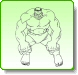 HULK Growl Coloring Pages