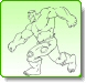 HULK HIT Coloring Pages