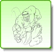 HULK Leap Attack Coloring Pages