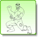 HULK Prepare for Attack Coloring Pages