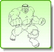 HULK Right Punch Coloring Pages