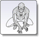Spiderman Sitting Coloring Pages
