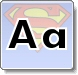 Superman A Letter Coloring Pages