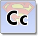 Superman C Letter Coloring Pages