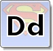 Superman D Letter Coloring Pages