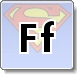 Superman F Letter Coloring Pages