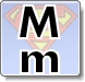 Superman M Letter Coloring Pages