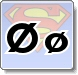 Superman Ø Letter Coloring Pages