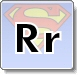 Superman R Letter Coloring Pages