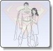 Superman and Lois Lane Hugging Coloring Pages