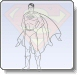 Superman Power Stance Coloring Pages
