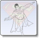 Superman Scouting Coloring Pages