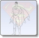 Superman Standing Coloring Pages