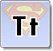 Superman T Letter Coloring Pages