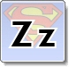 Superman Z Letter Coloring Pages